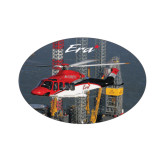 Extra Small Decal-First Augusta Westland AW139 in US, 3.5 inches wide x 2.36 inches tall