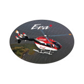 Extra Small Decal-Eurocopter EC 145 Over Louisiana Marshlands, 3.5 inches wide x 2.36 inches tall