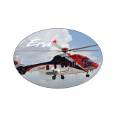 Extra Small Decal-Eurcopter EC 225 In GOM Skies, 3.5 inches wide x 2.36 inches tall