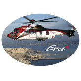 Extra Large Decal-Eurocopter EC 225 Maiden Flight in France, 12 inches wide x 8.1 inches tall