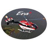 Extra Large Decal-Eurocopter EC 145 Over Louisiana Marshlands, 12 inches wide x 8.1 inches tall