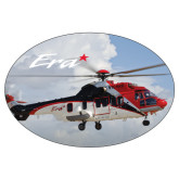 Extra Large Decal-Eurcopter EC 225 In GOM Skies, 12 inches wide x 8.1 inches tall
