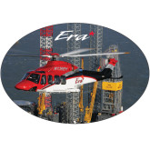 Super Large Decal-First Augusta Westland AW139 in US, 18 inches wide x 12.14 inches tall