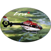 Super Large Decal-Eurocopter EC 135 Over Louisiana Marshlands, 18 inches wide x 12.14 inches tall