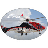 Super Large Decal-Eurcopter EC 225 In GOM Skies, 18 inches wide x 12.14 inches tall