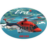 Super Large Decal-AW189, 18 inches wide x 12.14 inches tall