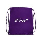 Purple Drawstring Backpack-Era