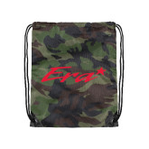 Camo Drawstring Backpack-Era