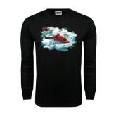 Black Long Sleeve TShirt-AW189