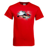 Red T Shirt-Eurocopter EC 225 In GOM Skies