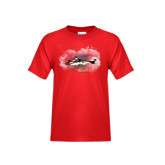 Youth Red T Shirt-Eurocopter EC 225 Maiden Flight in France