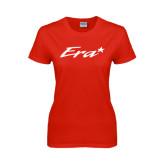 Ladies Red T Shirt-Era