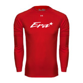 Under Armour Red Long Sleeve Tech Tee-Era