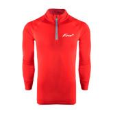 Under Armour Red Tech 1/4 Zip Performance Shirt-Era