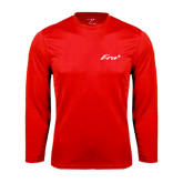 Performance Red Longsleeve Shirt-Era