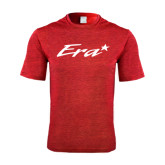 Performance Red Heather Contender Tee-Era