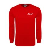 Red Long Sleeve T Shirt-Era