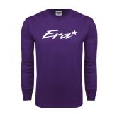 Purple Long Sleeve T Shirt-Era