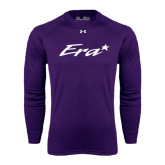 Under Armour Purple Long Sleeve Tech Tee-Era