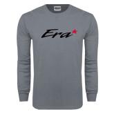 Charcoal Long Sleeve T Shirt-Era