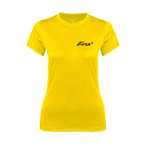 Ladies Syntrel Performance Gold Tee-Era