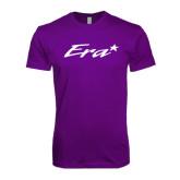 Next Level SoftStyle Purple T Shirt-Era