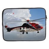 15 inch Neoprene Laptop Sleeve-Eurcopter EC 225 In GOM Skies