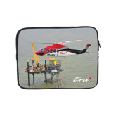 10 inch Neoprene iPad/Tablet Sleeve-Sikorsky S76 Passing Rig in Gulf of Mexico