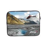 10 inch Neoprene iPad/Tablet Sleeve-A-Star AS 350 Alaska Flight Seeing Glaciers