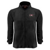 Fleece Full Zip Black Jacket-EC145