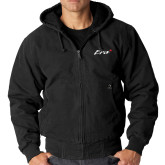 DRI DUCK Cheyenne Black Hooded Jacket-Era