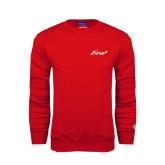 Red Fleece Crew-Era