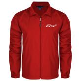 Full Zip Red Wind Jacket-Era