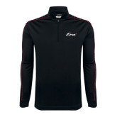 Nike Golf Dri Fit 1/2 Zip Black/Red Cover Up-Era