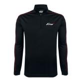 Nike Golf Dri Fit 1/2 Zip Black/Red Pullover-Era