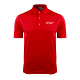 Red Dry Mesh Polo-Era