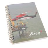 Clear 7 x 10 Spiral Journal Notebook-S92 Over Grass
