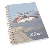 Clear 7 x 10 Spiral Journal Notebook-Eurocopter EC 225 Maiden Flight in France