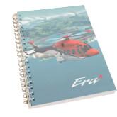 Clear 7 x 10 Spiral Journal Notebook-AW189