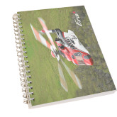 Clear 7 x 10 Spiral Journal Notebook-S92 Over Grass
