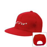 Red Flat Bill Snapback Hat-Era