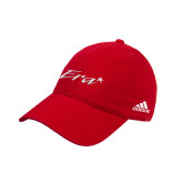 Adidas Red Slouch Unstructured Low Profile Hat-Era