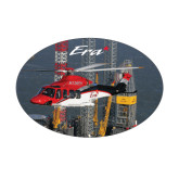 Small Magnet-First Augusta Westland AW139 in US, 5 inches wide x 3.375 inches tall