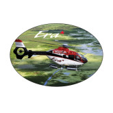 Small Magnet-Eurocopter EC 135 Over Louisiana Marshlands, 5 inches wide x 3.375 inches tall