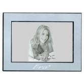 Silver Two Tone 5 x 7 Horizontal Photo Frame-Era Engraved