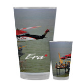 Full Color Glass 17oz-Sikorsky S76 Passing Rig in Gulf of Mexico