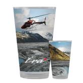 Full Color Glass 17oz-A-Star AS 350 Alaska Flight Seeing Glaciers