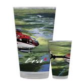 Full Color Glass 17oz-Eurocopter EC 135 Over Louisiana Marshlands