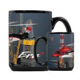 Full Color Black Mug 15oz-First Augusta Westland AW139 in US