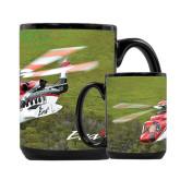 Full Color Black Mug 15oz-S92 Over Grass